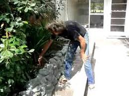 How To Build A Stone by How To Build A Stone Wall Youtube