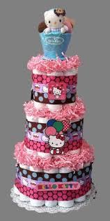 baby diaper cake tutu pom poms disney princesses