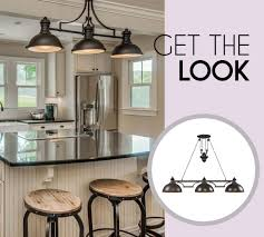 Farmhouse Island Lighting Industrial Rustic Farmhouse Bath Lighting Shades Of Light Within
