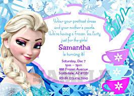 Birth Invitation Cards Personalized Frozen Birthday Invitations U2013 Gangcraft Net