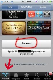 How To Redeem Itunes Gift Card On Iphone - how to redeem an itunes gift card
