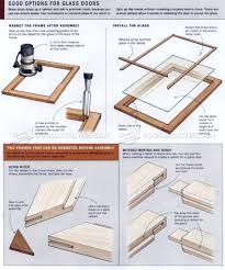how to router cabinet doors for glass 3105 frame and panel construction cabinet door construction