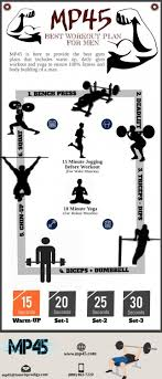 best workout plan for at home visual ly