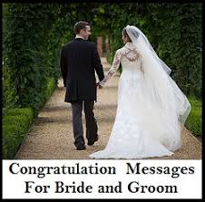 Wishes For The Bride And Groom Cards Congratulation Messages Bride U0026 Groom