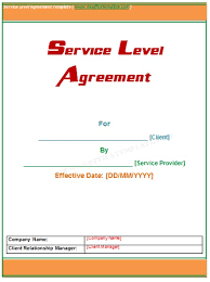 simple service contract samples