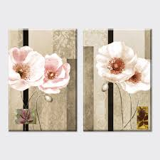 Home Decor Canvas Art by Aliexpress Com Buy 2 Piece 2015 America Style Abstract White