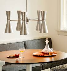 Modern Chandelier Dining Room by Galaxy Wide Chandelier Chandeliers Mid Century Modern