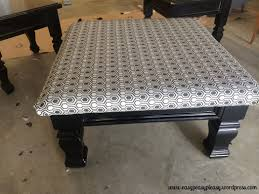 diy pallet tufted coffee tableottoman how to build a storage