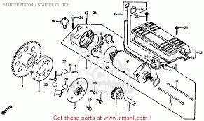 honda cb1000c 1000 custom 1983 d usa starter motor starter
