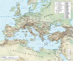 Constantinople Europe Map Free Here by Roman Roads Article Ancient History Encyclopedia