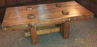 Wooden Table Plans Rustic Coffee Table Plans With Storage Rustic Coffee Table Plans