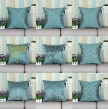 Cushion Covers For Sofa Pillows by Aliexpress Com Buy Faux Silk Decorative Pillows Shell Cushion