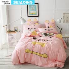 Peppa Pig Duvet Cover 100 Cotton Popular Pig Bedding Set Buy Cheap Pig Bedding Set Lots From China