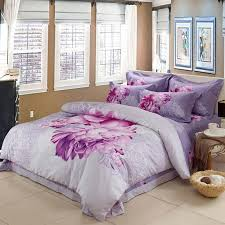 Girls Queen Size Bedding Sets by Lavender Purple Red And White Beautiful Floral Print Girls College