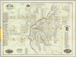 Denver Metro Zip Code Map by Denver Map Denver On A Map Colorado Usa