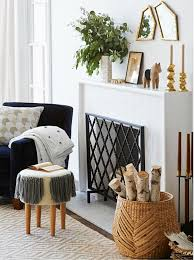 target black friday fireplace chevron fireplace screen fireplace screens crates and barrels