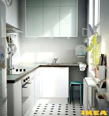 Small Kitchen Ikea Ideas Ikea Small Kitchen Narrow Kitchen With Kitchen Cabinets Built All