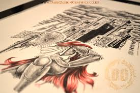 knight tattoo design a testimonial dark design graphics