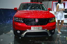 fiat freemont fiat freemont cross front geneva live indian autos blog