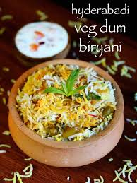 biryani cuisine veg dum biryani hyderabadi veg biryani recipe hyderabadi biryani