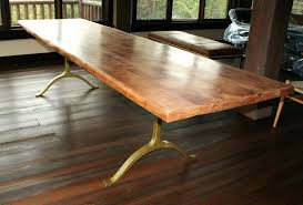 amazing solid wood plank dining table awesome room tables with