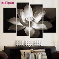 Peinture Noir Et Blanc by Fleur De Lotus Peintures Promotion Achetez Des Fleur De Lotus