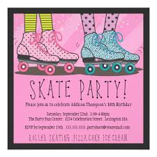 free roller skate invitation template party favors and ideas
