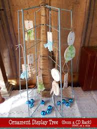 denise on a whim upcycled ornament display tree