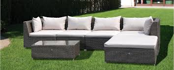 divano giardino papillon marettimo divano da giardino in polyrattan modulare con