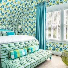 Green Bedroom Curtains Green And Blue Girl Bedroom Curtains Design Ideas