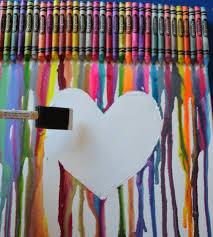 How To Get Crayon Off The Wall by Come Together Kids Melted Crayon Canvas