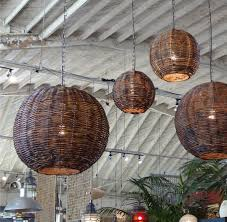 get the look from the ad article rattan globe lanterns like
