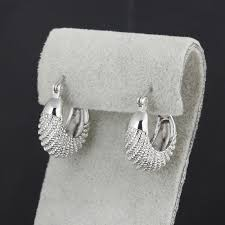 bong bach italy new fashion moon stripe earrings fashion jewelry charms silver