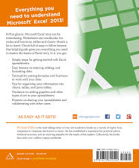 Spreadsheets For Dummies Free Microsoft Excel 2013 Idiot U0027s Guides Michael Miller