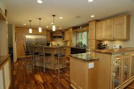 black walnut flooring kitchen traditional with breakfast bar