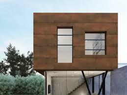 ultra thin outdoor wall tiles with metal effect steel corten steel