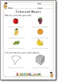 national talent class 1 exam colors u0026 shapes worksheet