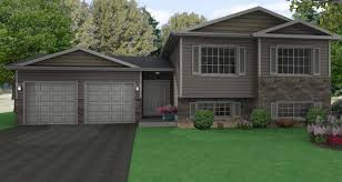 28 side split house plans side split level house plans 3