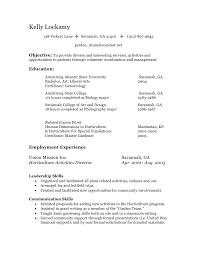 Resume Volunteer Work Volunteer Resume Listing Volunteer Work On Resume Example Listing
