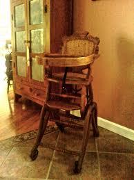 Rocking Horse High Chair Antique High Chair Rocker Antique Furniture
