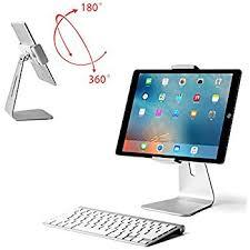 Macbook Pro Desk Mount Amazon Com Viozon Ipad Pro Stand Tablet Stand 360 Rotatable