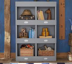 Bookcase For Boys Cameron Library Cubby Bookcase Pottery Barn Kids