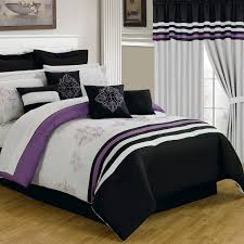 Whole Bedroom Sets Total Fab Purple Black And White Bedding Sets Drama Uplifted