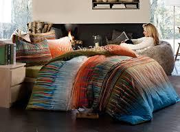 blue and orange bedding blue and orange comforter set bright bedding tokida for 11
