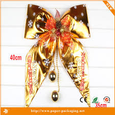 wholesale christmas decorations dw cs97 wholesale christmas decorations bowknot christmas tree