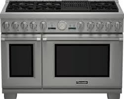 Thermador PRD486NLGU 48 Inch Pro Style Dual Fuel Range with 6 Sealed