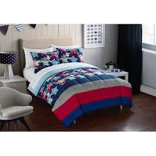 Blue Camo Bed Set Product