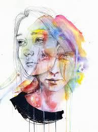 girls change colors by agnes cecile on deviantart