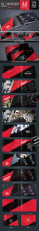 Envato Resume Templates Dj And Musician Press Kit Resume Template By Dogmadesign