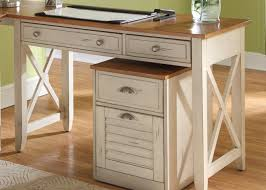 Home Office Wood Desk Home Office Classic Home Office Furniture Of Rustic White Wooden